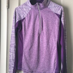 Danskin now purple athletic pullover